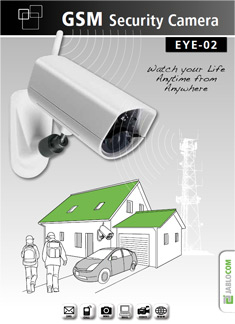 eye 02 gsm security camera